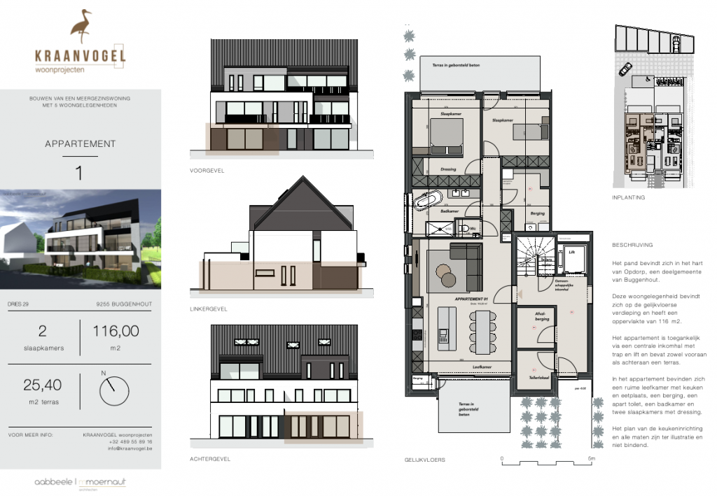 Residentie Willemien: appartement 1