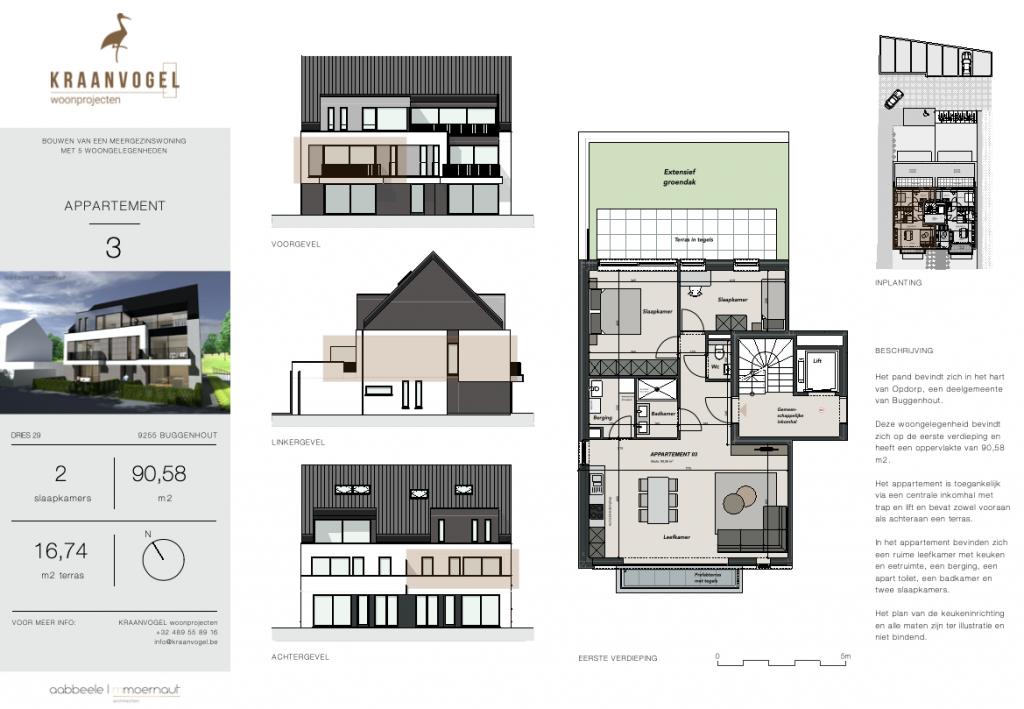 Residentie Willemien: appartement 3
