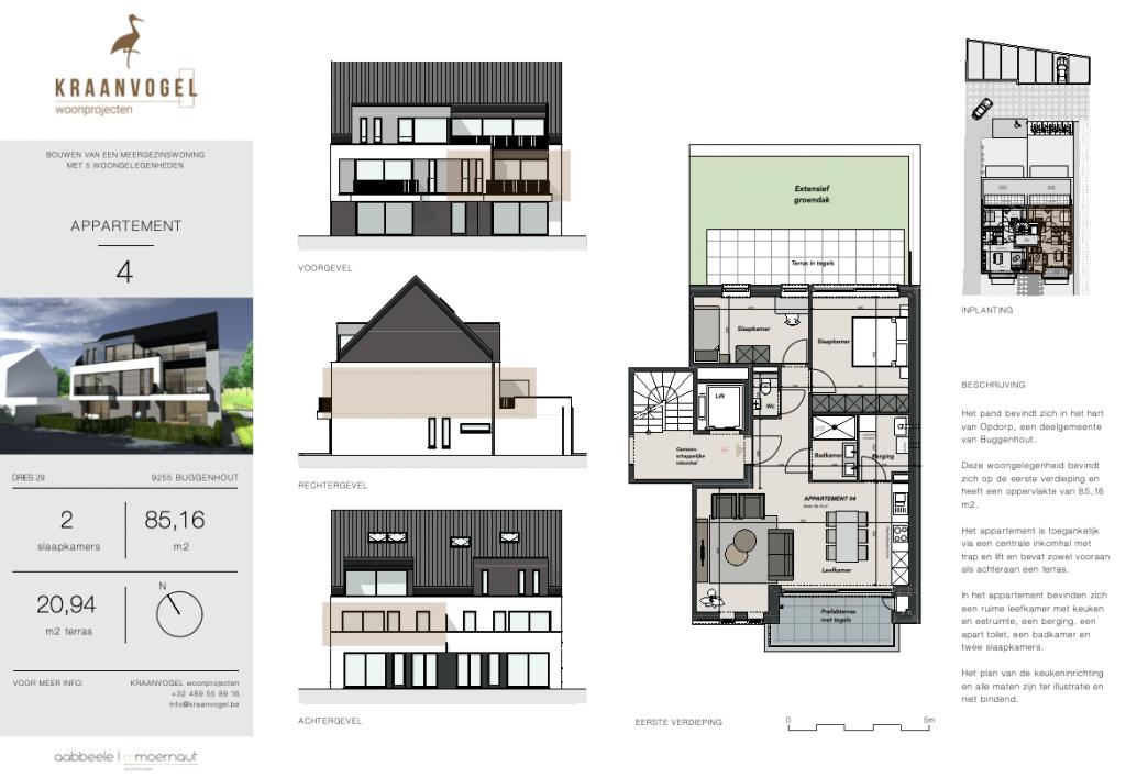 Residentie Willemien: appartement 4