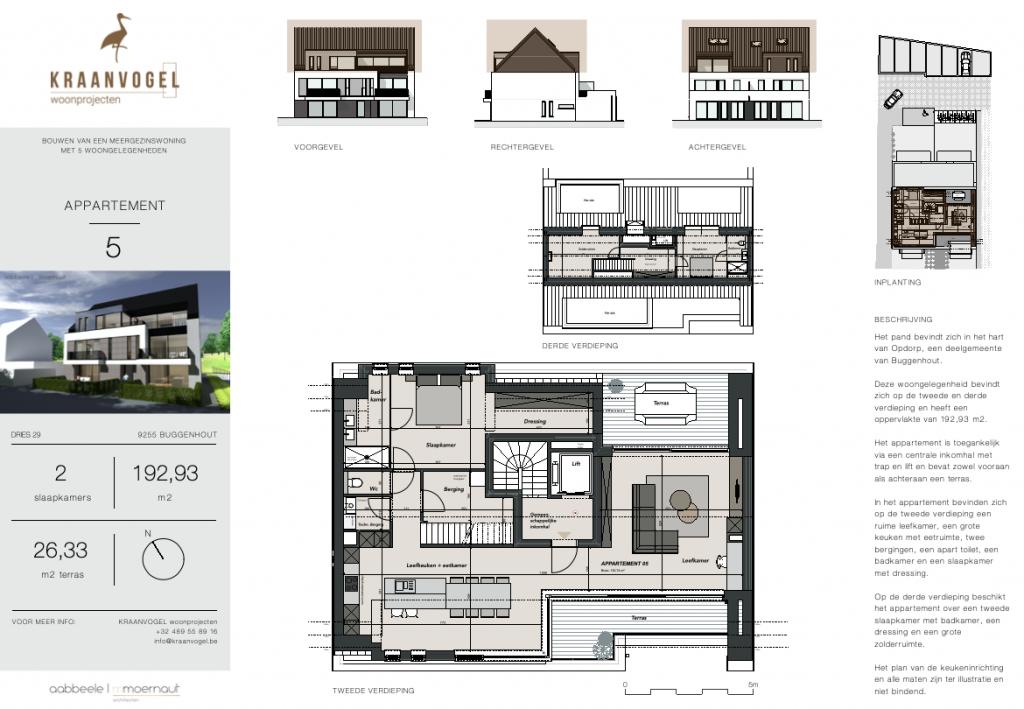 Residentie Willemien: appartement 5