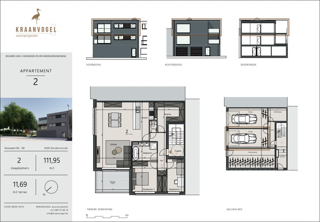Grootzand: appartement 2