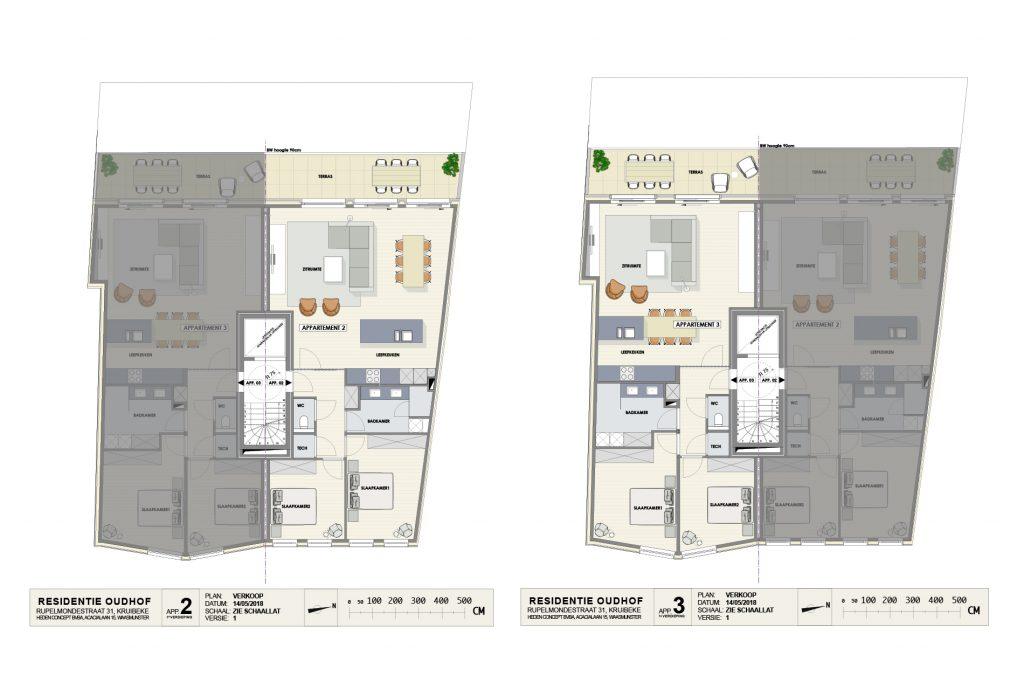 Residentie Oudhof: appartement 2 (eerste verdieping)
