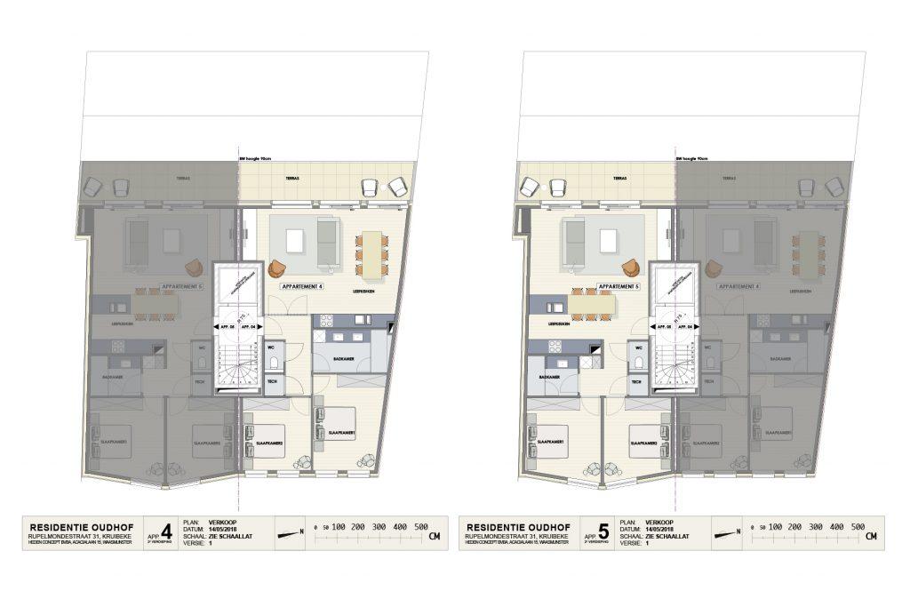Residentie Oudhof: appartement 4 (tweede verdieping)